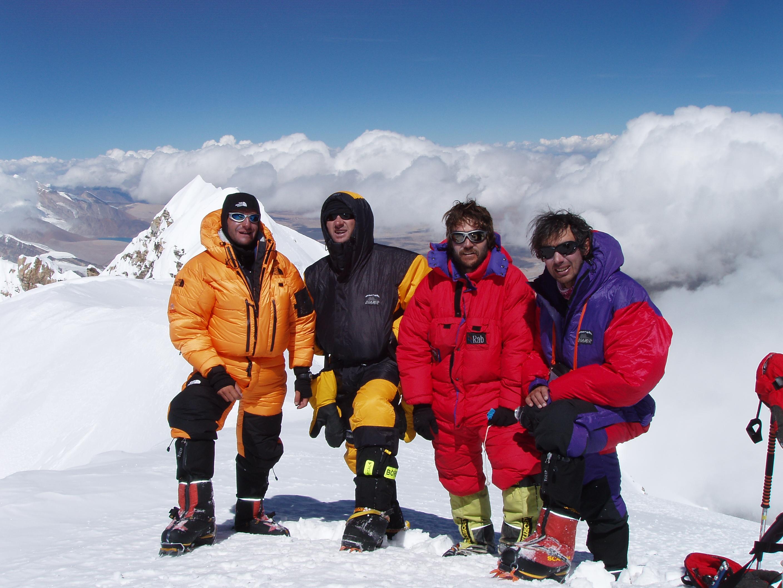 79. Amb J.Vallejo.J.C.Tamayo i J.Egocheaga al cim
